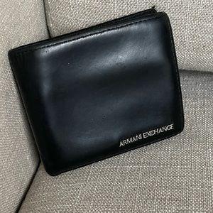 Armani Exchange man's wallet